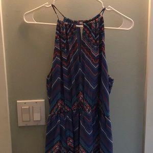 Cute lined maxi dress size medium